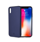 Celly GHOST SKIN IPHONE X/XS BLUE