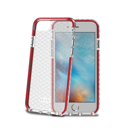 Celly HEXAGON COVER IP 6/6S/7/8 RED