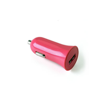 Celly CAR CHARGER 1A USB PORT PINK
