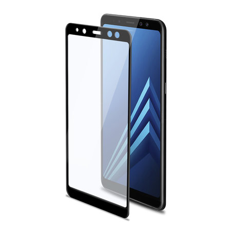 Celly 3D GLASS GALAXY A8 PLUS BLACK