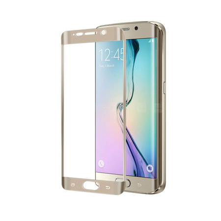 Celly FULL CURVE GLASS GALAXY S6 EDGE GD