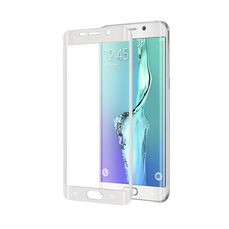 Celly FULL CURVE GLASS S6 EDGE PLUS WH