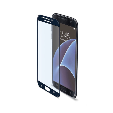 Celly FULL CURVE GLASS GALAXY S7 BLACK