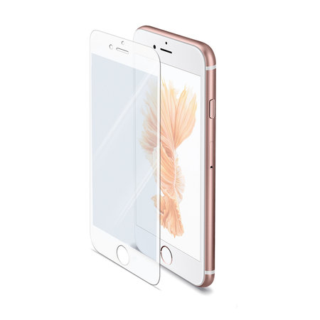 Celly FULL GLASS IPHONE 6S WHITE