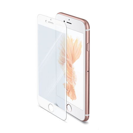 Celly FULL GLASS IPHONE 6S PLUS WHITE