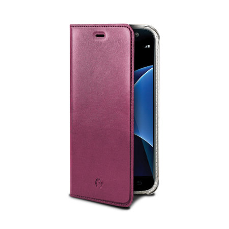Celly AIR PELLE GALAXY S7 PINK