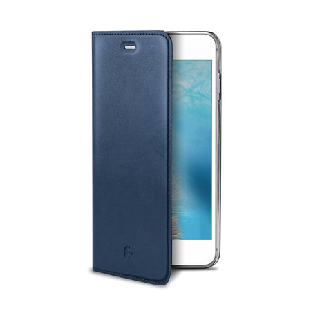 Celly AIR PELLE IPHONE 7/8 PLUS BLUE