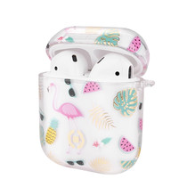 AIRPOD CASE PAINTING PINK