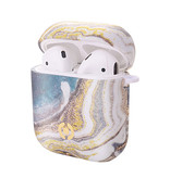 AIRPOD CASE MARBLE GOLD