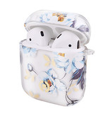 AIRPOD CASE PAINTING LIGHT BLUE