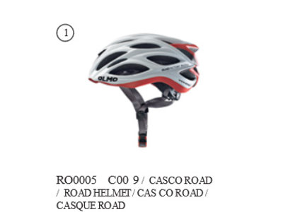 CORSA NERO - CYCLING HELMET