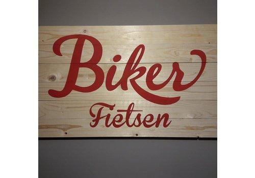 Biker fietsen Drongen