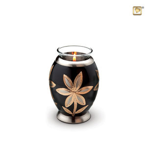 LoveUrns® CHK 250 Brass candle holder