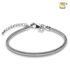 LoveUrns® Treasure™ TRBRAC Snake chain bracelet