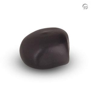 Urnenatelier Schoonhoven KK 006 Cuddle Stone matt black