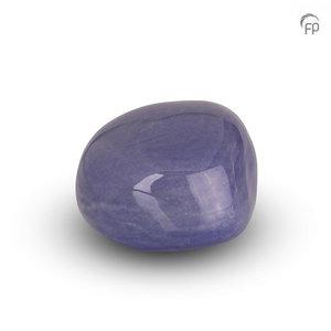 Urnenatelier Schoonhoven KK 008 Cuddle Stone glossy light blue