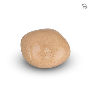 Urnenatelier Schoonhoven KK 011 Cuddle Stone glossy sand colour