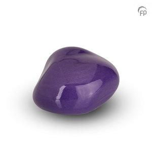 Urnenatelier Schoonhoven KK 014 Cuddle Stone glossy violet