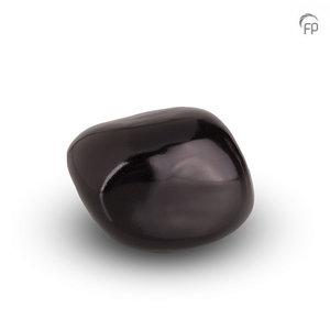Urnenatelier Schoonhoven KK 018 Cuddle Stone glossy black