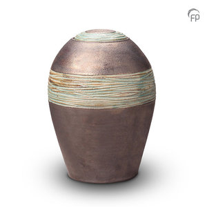 Pottery Bonny KU 304 Ceramic urn metallic