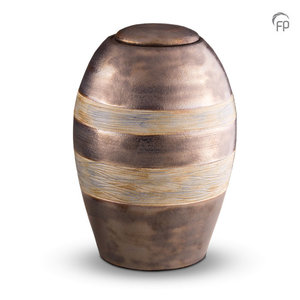 Pottery Bonny KU 306 Ceramic urn metallic