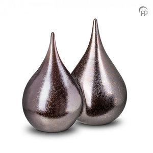 Urnenatelier Schoonhoven KU 511 Duo ceramic urn teardrop
