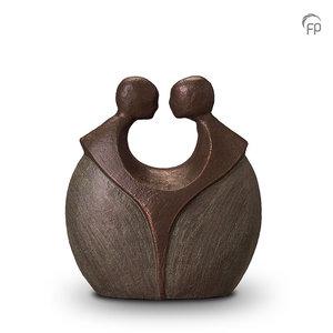 Geert Kunen UGK 038 A Ceramic urn bronze