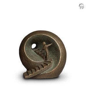 Geert Kunen UGK 041 A Ceramic urn bronze