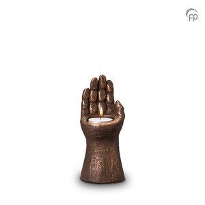 Geert Kunen UGK 145 AT Ceramic urn bronze
