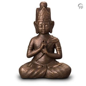Geert Kunen UGK 302 B Ceramic urn bronze
