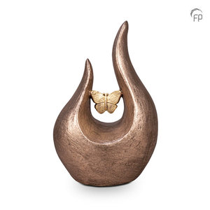 Geert Kunen FPU 052 Ceramic art urn Fuego