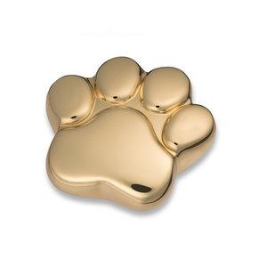 HUP 671 K Brass keepsake paw