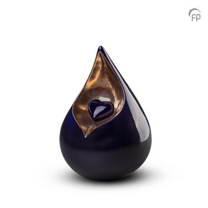 FPU 001 M Ceramic medium urn Celest