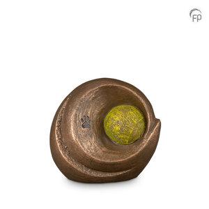 Geert Kunen UGK 220 Ceramic pet urn bronze