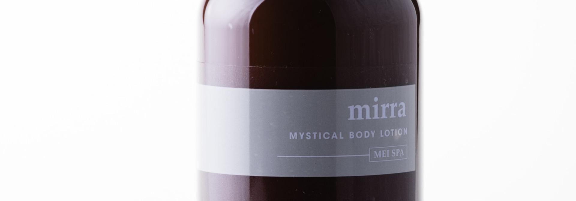 MIRRA  Mystical Body Lotion - MEI SPA