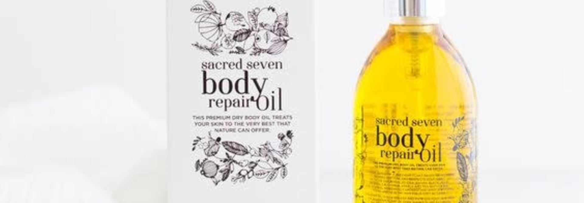 Sacred Seven Body Repair Oil 200 ml pet