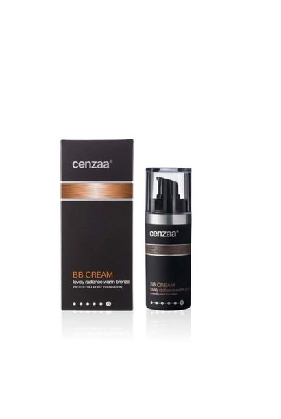 Cenzaa Lovely Radiance BB-Cream - warm bronze
