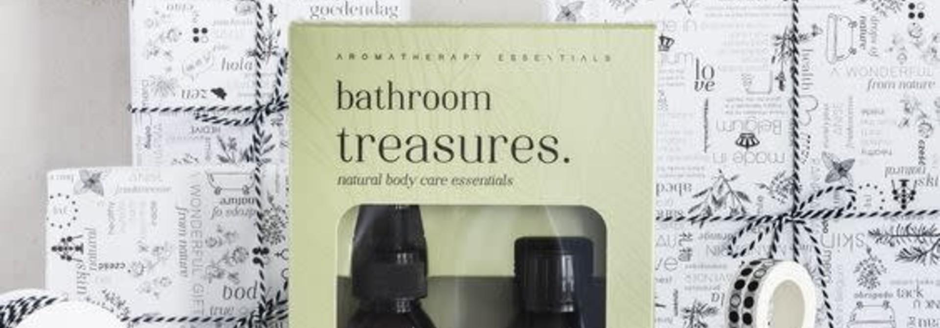 Bathroom Treasures natural body care essentials
