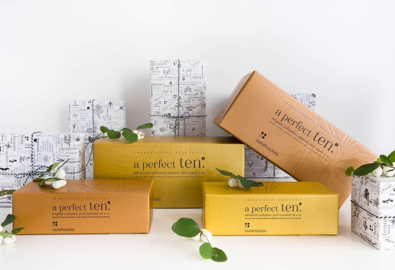 A Perfect Ten Essential Oils - Original Collection 1-3