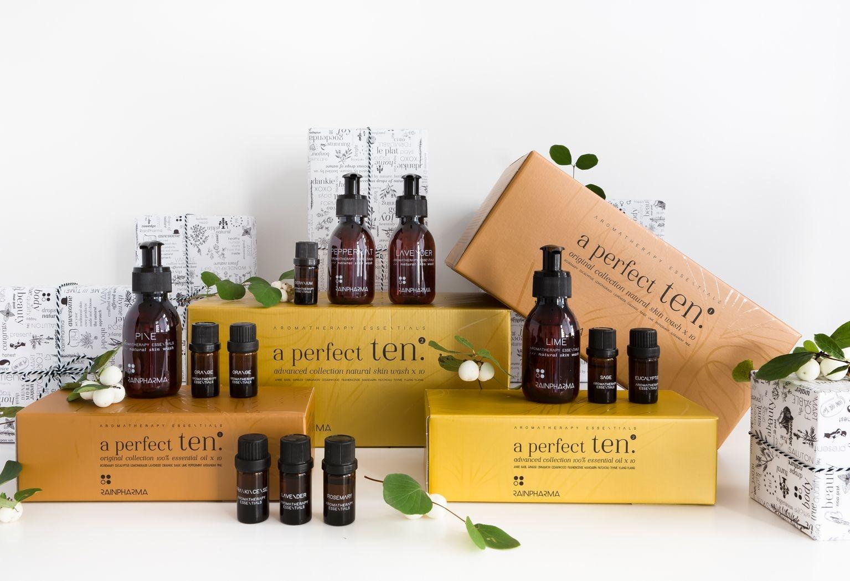 A Perfect Ten Essential Oils - Original Collection 1-4