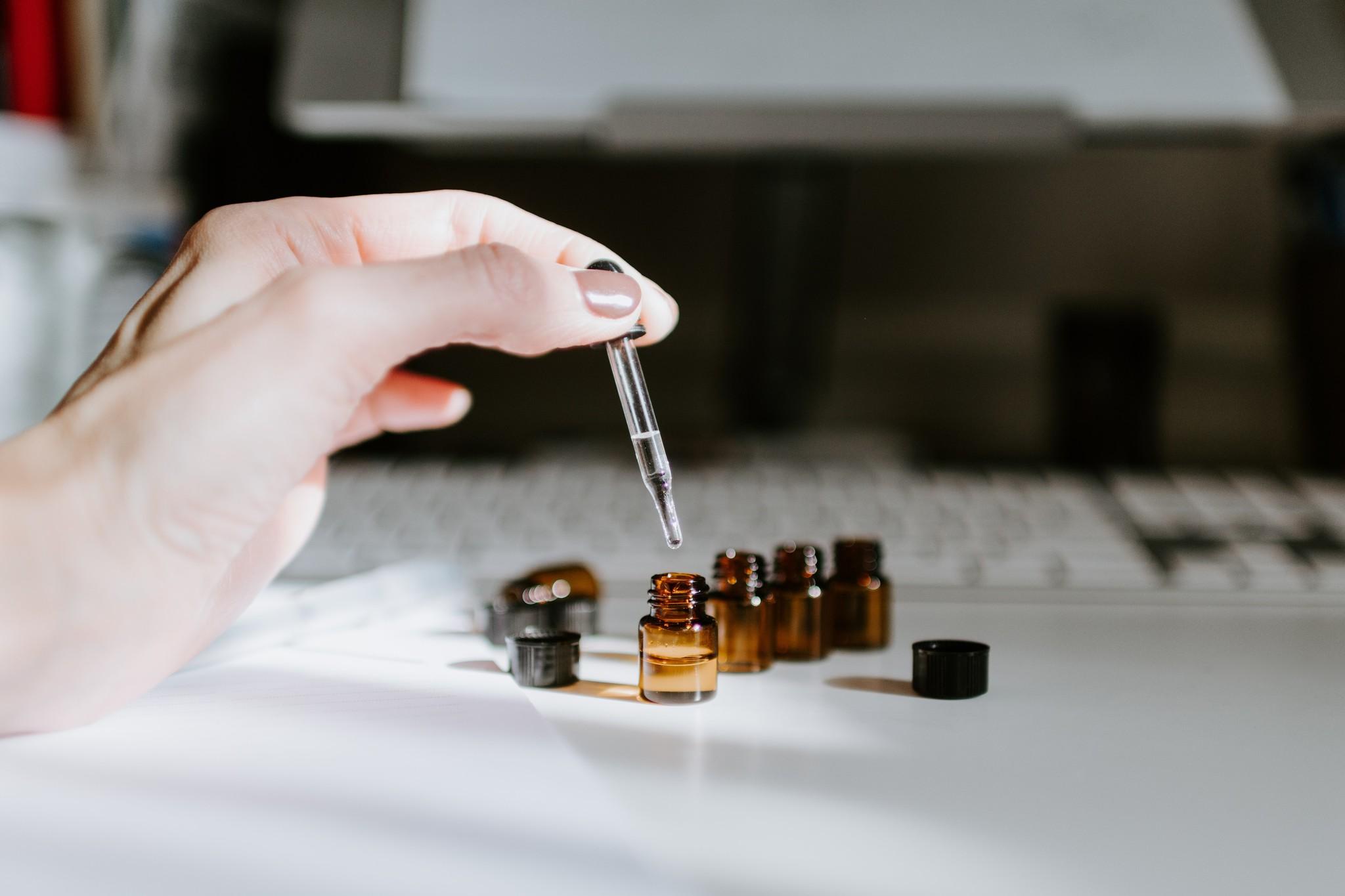 Essentiële olie in flesje - Etherische