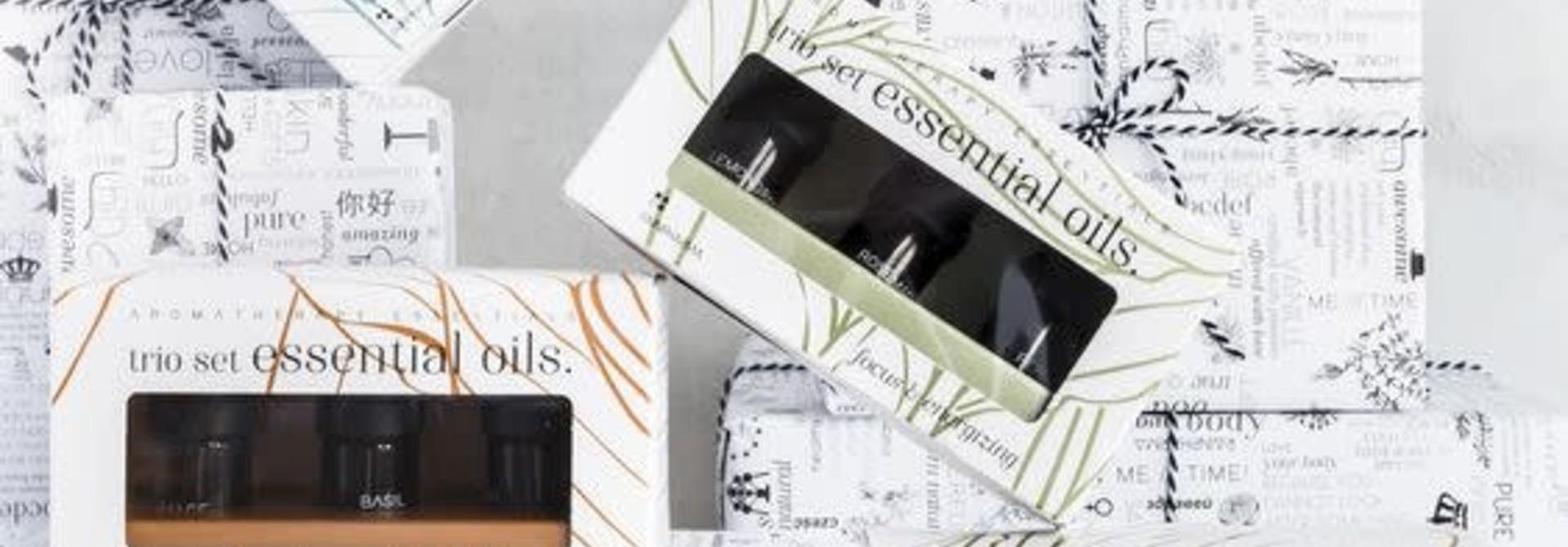 Trio Set Essential Oils |FRESH & FRUITY | Essentiële Olie