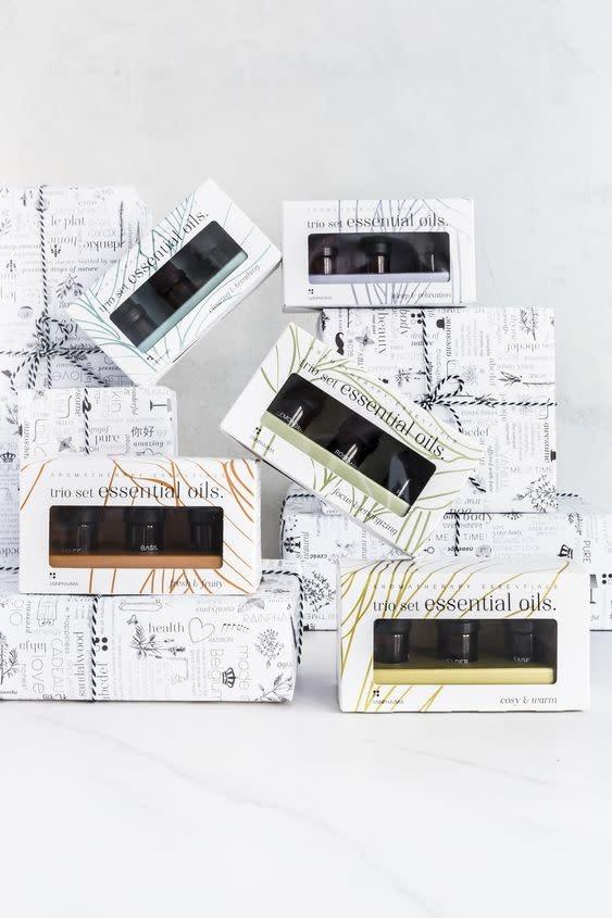 Trio Set Essential Oils |FRESH & FRUITY | Essentiële Olie-1