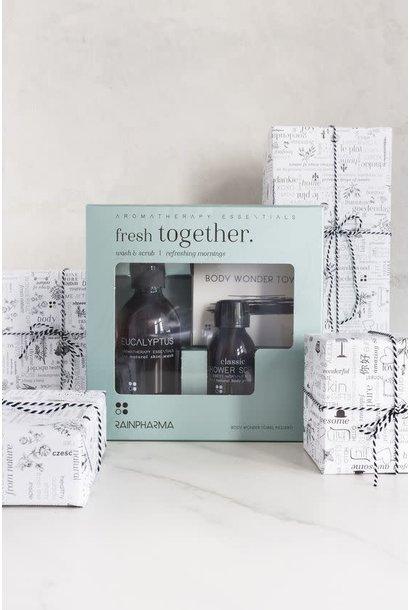 Fresh Together | Eucalyptus douchegel met Showerscrub