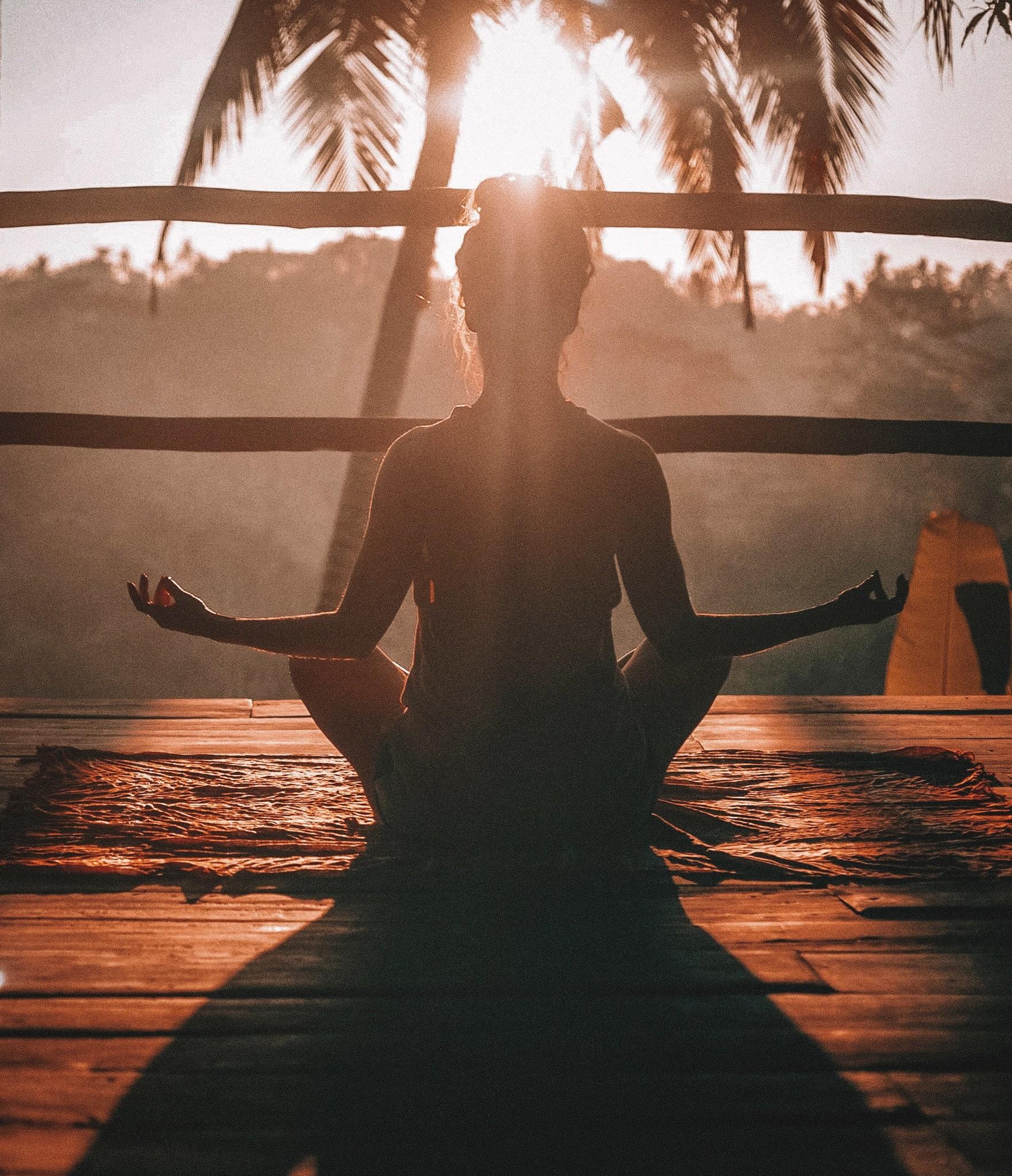Mediteren is ontspanning