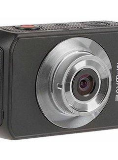 M-WAVE Sportcamera M-Wave Full HD 1080P met touch screen en waterdichte behuizing