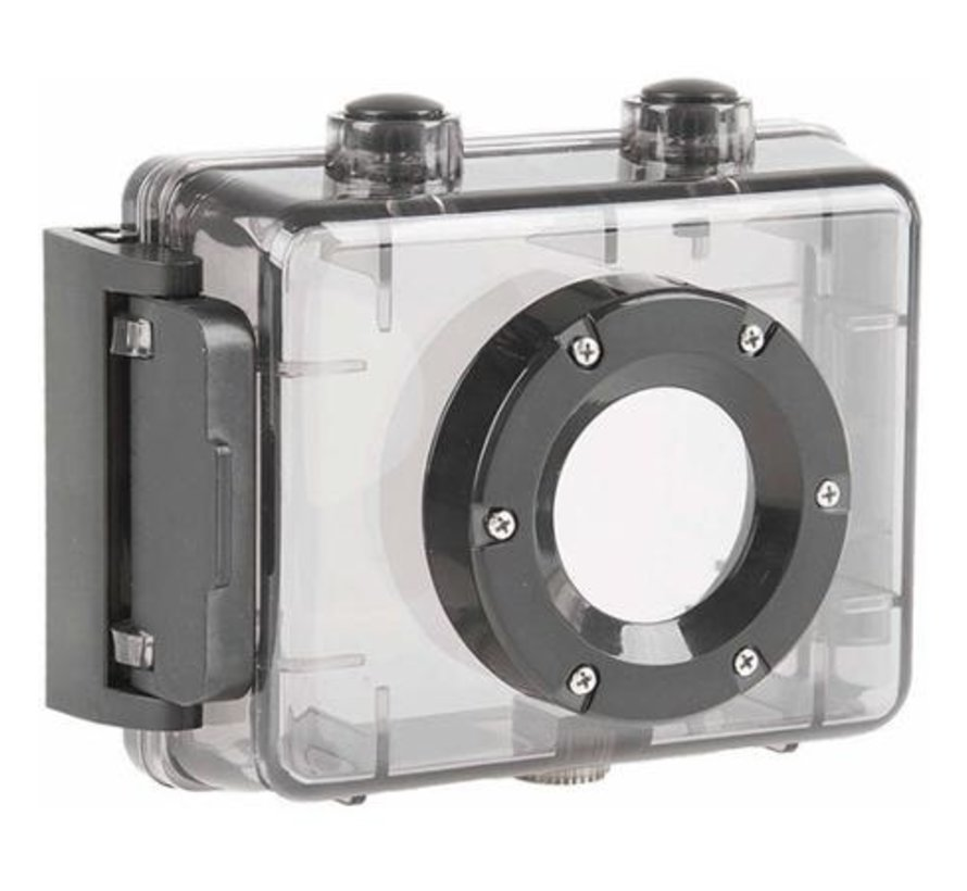 Sportcamera M-Wave Full HD 1080P met touch screen en waterdichte behuizing