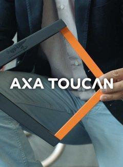 AXA Vouwslot Axa Toucan 80 - donkergrijs