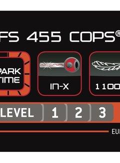 TRELOCK Vouwslot Trelock FS 455/85 Cops - Wit