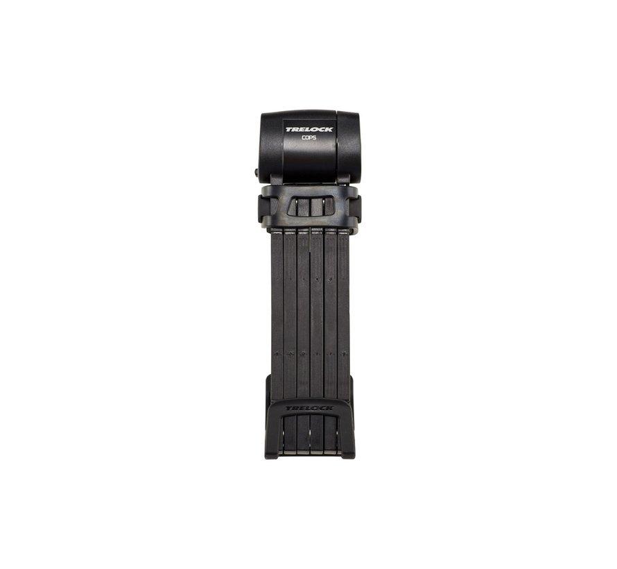 Vouwslot Trelock FS 460/100 Cops L - Zwart